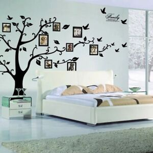 DIY Photo Tree PVC Wall Decals Adhesive Family Stickers Mural Art Home Decor