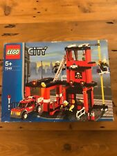 LEGO City Fire Station Set #7240 New But Damaged Box