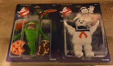 New Kenner Ghostbusters Classic Retro Green Ghost Slimer & Stay Puft