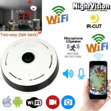Wifi HD 1080P 360 Degree Panoramic  2MP Home CCTV Security IP Camera  WebCam