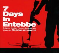 7 DAYS IN ENTEBBE OST (2018) 20-tk CD album NEW/SEALED Rodrigo Amarante