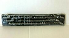 """SNAP ON 1/4 DRIVE WOBBLE EXTENSIONS 1/4"""" DRIVE.6 PIECES 106ATMXW"""