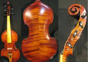 SONG Brand Maestro 4×5 strings 4/4 violin,viola d'Amore,rich sound #4032