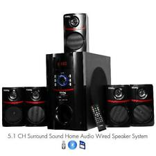 Frisby FS-5010BT 5.1 Surround Sound Home Theater Speakers System with Bluetooth