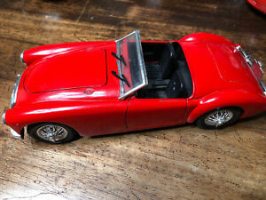 Vintage Tonka Polistil 1959 MG MGA Twin Cam 1:16 Scale Diecast Model D7