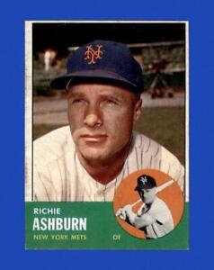 1963 Topps Set Break #135 Richie Ashburn EX-EXMINT *GMCARDS*
