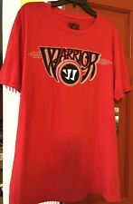 NWT Warrior Mens Red Tee Shirt Size Large