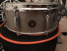 Vintage 1962 Gretsch Silver Sparkle Pearl Snare Drum