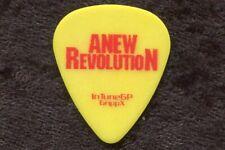 Anew Revolution 2000's Tour Guitar Pick! Shaun Stockton custom concert stage