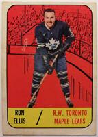 RON ELLIS # 14 1967-68 TOPPS TORONTO MAPLE LEAFS