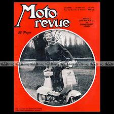 MOTO REVUE N°1244 PUCH 250 SG MOTA NICKY YDRAL BOL D'OR TOURIST TROPHY TT 1955