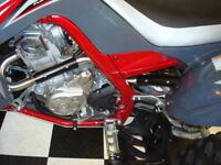 Yamaha Raptor 700 Monster Pipe Dual Exhaust System  MonsterPipe 700r
