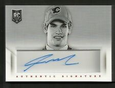 2013-14 Playbook SEAN MONAHAN 1st Round Edition #16 Autograph Jersey Booklet