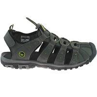 MENS HI-TEC SPORTS WALKING SANDALS SIZE UK 7 - 12 ADVENTURE SHORE CHARCOAL