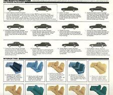 1980 Plymouth Volare Opuscolo/Opuscolo W/Colore il Grafico: Sport Wagon, RR,