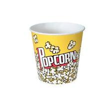 Popcorn supplies - Yellow Popcorn tubs 170oz qty of 25