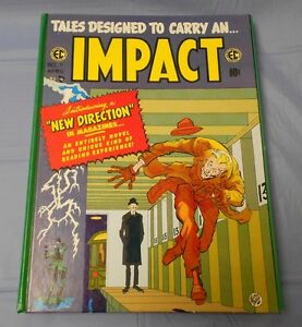 1988 EC Comics TALES DESIGNED TO CARRY AN IMPACT Hardcover NM-