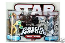 Star Wars CHEWBACCA & CLONE TROOPER Galactic Heroes