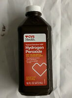 CVS Health Hydrogen Peroxide Topical Solution  First Aid Antiseptic Oral 16 Oz