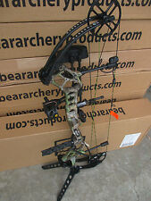 Bear Crux Marshal RTH 70# RH Bow Package Xtra Camo Ready To Hunt Package