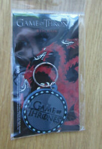 Game of Thrones Logo Rubber Keychain FREEPOST