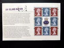 GB 2013 Merchant Navy Machin Se-tenant Prestige Booklet Pane SEE BELOW NB4077