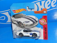 2017 Hot Wheels Basic W231 DODGE VIPER RT//10 #281 yellow Then and Now