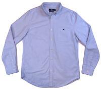 VINEYARD VINES Mens Slim Fit Tucker Shirt Long Sleeve Size Medium Blue EUC