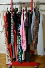 MIXED LOT 16 PIECES WOMEN'S DRESS, BLAZER, TOP - SIZE L 10-12 - NEW & USED A12