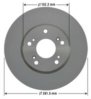 Disc Brake Rotor-GX Front OMNIPARTS 13060001