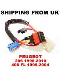 IGNITION SWITCH LOCK BARREL CABLES WIRES ENGINE STARTER PEUGEOT 206 CC SW 406 FL