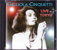 GIGLIOLA CINQUETTI ★ Raro CD ★ LIVE IN TOKYO ★ MILVA NADA MARCELLA MINA DALIDA ★