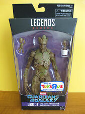 "2016 Marvel Legends Toys R Us 6"" Exclusive Groot Guardians Of The Galaxy New"