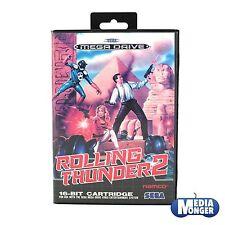 SEGA Mega Drive Genesis ® ® Rolling Thunder 2 ™ (culto) RAR