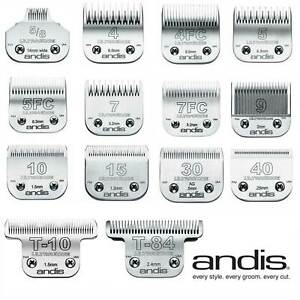Andis Ultraedge Detachable Clipper Blades Dog & Cat Grooming Suit Wahl Oster A5