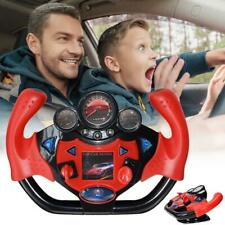 Simulation Sports Car Steering Wheel Co-pilot Toy Educational Toys for Children