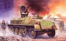 "HALF-TRACK sWS avec PROJECTEUR ""UHU"" 60cm - Kit GREAT WALL HOBBY 1/35 n° 3511"