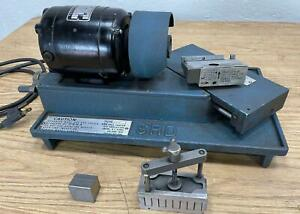 SRD DG76M Drill Pointer Drill Grinder, 5,000 RPM, 115V w/Clamp Tested