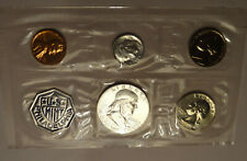 1962 US PROOF SET, ORIGINAL MINT CELLOPHANE & MINT PACKAGING