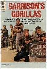 GARRISONS GORILLAS (1968-1969 DELL) 5 VF-NM PHOTOCOVER COMICS BOOK