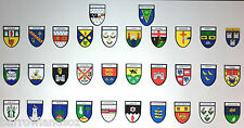 Irish County Crest Stickers - All 32 Counties Deal Window & Bumper Sticker