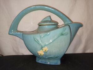 Vintage Roseville Pottery Teapot