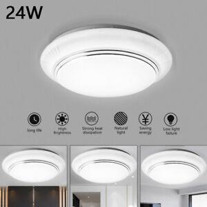 Modern LED Ceiling Lights for Bedroom Kitchen 24W Lighting Fixture for Ceiling