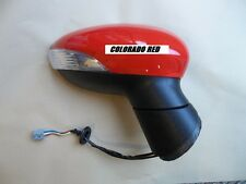 Ford fiesta Mk7 Wing Door Electric Mirror PAINTED IN FORD COLORADO RED  08-12