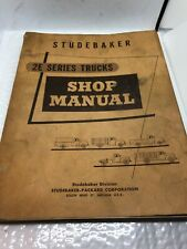 New Listing1955 1956 Studebaker Truck 2E Series Shop Manual