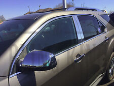 2010-2017 Chevy Equinox chrome door handle mirror cover trim moldings