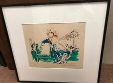 Authentic LeRoy Neiman Princess Anne (Olympic Suite) AP Limited Edition Painting