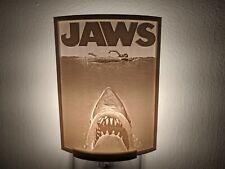 Jaws (1975) Movie Poster Lithophane Incandescent Night Light
