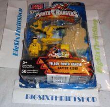 Power Rangers Yellow Dino Thunder Raptor Rider 5707 Mega Bloks