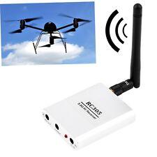 RC305 5.8Ghz 12V 200mW Wireless 8CH AV RX FPV Audio Video Receiver W/Antenna YT